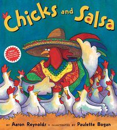 Read aloud book for Cinco de Mayo and do a little salsa sampling/data collection