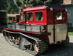 snow trac | The Snow Trac is a small personal Snowcat that is roughly the size of ...