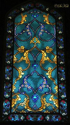 Revzen-i Menkuş, Topkapı Palace, Istanbul, Turkey gold aqua teal turquoise
