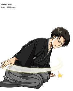 """Levi for Hangeki no Tsubasa's """"New Year's"""" Class!"""