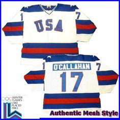 a94895c9d0b USA Olympic 1980 Miracle on Ice White Jack O Callahan Hockey Jersey - Custom  Made Sports Jersey