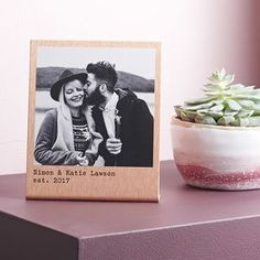 Personalised Solid Copper Polaroid Print - This Valentine's Day we've all kinds of heartfelt finds, from the UK's best small creative businesses.