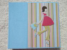 6x6 Chipboard Premade Pregnancy Scrapbook Album