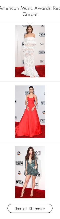"""""""American Music Awards: Red Carpet"""" by polyvore-editorial ❤ liked on Polyvore featuring AMAs and people"""
