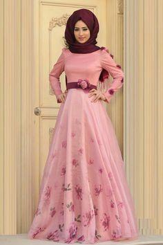 Perfect for special occasions Abaya Fashion, Muslim Fashion, Fashion Dresses, Hijab Style Dress, Chic Dress, Abaya Mode, Moslem, Hijab Stile, Muslim Dress