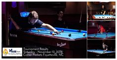Viking Cues Q City 9 Ball Tour Results on November 12, 2016 at Corner Pockets in Fayetteville, NC