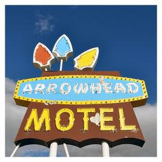 Arrowhead Motel Print, available at Eriedrive.com