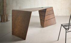 Italienische möbel designer Alessandro Isola Designermöbel torque desk