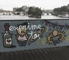 Exprime toi 📷  París, verano 2015  #france🇫🇷 #paris #pontdesarts #streetart #travelphotography #serialtraveler #worldwide_travelers #worldcaptures #photographylovers #iamatraveler #travelerinparis #afterlight  #parisjetaime #parismonamour #loves_paris #lugaresimperdibles #seulementparis  #beautifuldestinations #topparisphoto #worldnomads #pariscartepostale #unlimitedparis #exclusive_france #paris_focus_on #exploretocreate #liveauthentic #hello_france #france_focus_on #travelingram…