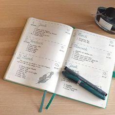 bullet journal methode etapes