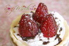 Strawberry Tart soap
