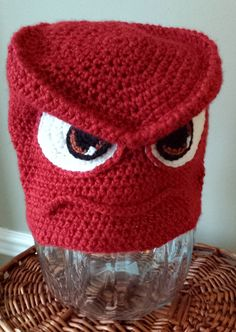 Try your hand at making Anger from Disney / Pixar's Inside Out! This blog has a free pdf pattern as well as other patterns.