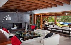 Salas de estar modernas por Taller Luis Esquinca