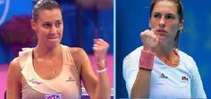 11/1/14 Sofia WTA Tournament of Champions FINAL Set: #GroupSerdika's Flavia Pennetta v #GroupSredets' Andrea Petkovic.
