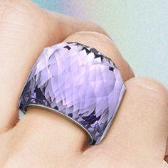 Nirvana Tanzanite Ring from Swarovski.  I've been stalking.  I will own one day.  Soon.