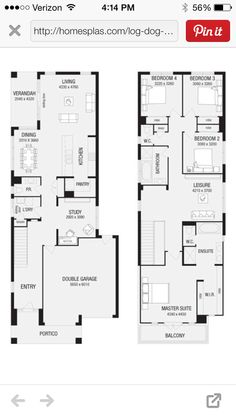 1000 images about architect on pinterest shotgun house for Shotgun home floor plans