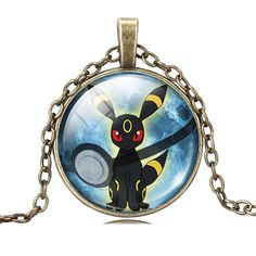 Pokemon Umbreon Necklace //Price: $ 8.95 & FREE shipping //  #nintendo #pikachu #pokemonx #pokemony #pokeball #pokemongo #pokemonxy #pokemontrainer
