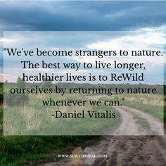 Get back to nature. #rewild #nature