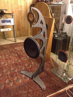No baffle Fostex project from GP Audio Lounge