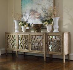Furniture in Knoxville - Mirrored Furniture - Glamour - Home Décor - Braden's Lifestyles Furniture - Interior Design - The Design Center at Braden's
