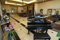 The Entrance Foyer to Stonebrook Manor Event Center and Gardens in Thornton, Colorado.