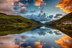 Tal-Y-Llyn Lake by TheNarratographer