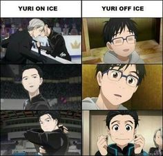 Katsuke Yuuri | Yuri on Ice Victor got himself a man that could do both XD