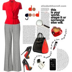LIZ by elizabethhorrell on Polyvore featuring Alexander McQueen, Christian Louboutin, Casetify and Tourne