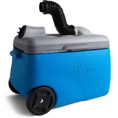 The Icybreeze is a cooler that doubles as a portable air conditioning unit, perfect for those campouts in the desert. Purchase from the Icybreeze online store.