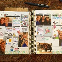 Fresh week in my @erincondren Luxe neutral. Last week was all filled up so I didn't have room for any of the #natlplannermeetup photos we took. This week features some special moments with some fabulous friends!  #weloveec #wlec #erincondren #polaroidzip #plannercommunity #plannerfriendsmakethebestfriends #eclplifeplanner #wlecweekly