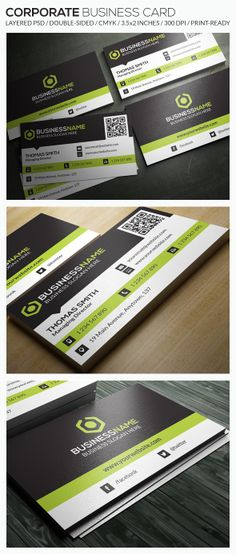 Corporate Business Card - RA31 by Respinarte