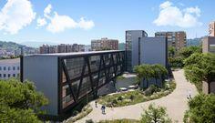 Architectural visualisation Carme Pinós studio