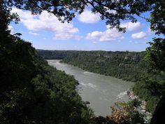 Hiking with an incredible view! Niagara River Gorge!
