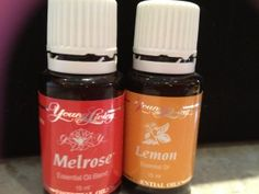 Young Living Oils-struggling with colds and sore throats, I thought I'd share my favourite recipe:     1 teaspoon of raw organic honey or Agave  1 drop Young Living Melrose oil  1 drop Young Living Lemon oil  Can also add water  Mix together and eat off a spoon.  Allow the mixture to mix with the saliva in your mouth before swallowing.