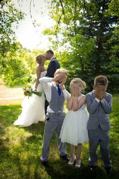 #AdorableWeddingPictureIdeas #Kids #Bride #Groom