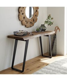 Yukon Console Table | Crate and Barrel