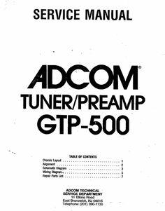 adcom gfa 565 original service manual adcom service manuals rh pinterest com adcom gfp 565 service manual Adcom GFA- 555 Specs