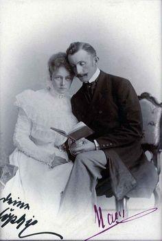 Sophia,figlia di Theodor ed il marito Hans