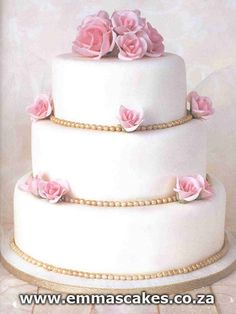 Simple+Wedding+Cakes   Simple traditional wedding cake   Flickr - Photo Sharing!