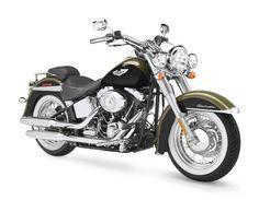 My Dream Bike:  2007 Harley-Davidson FLSTN - Softail Deluxe, black olive