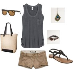 Earthy Summer, created by heather-rolin on Polyvore