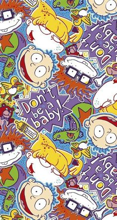 The Rugrats Movie, Rugrats Characters, Free Coloring Sheets, Coloring Pages For Kids, Aesthetic Photography Grunge, Cute Wallpapers, Iphone Wallpapers, Retro Wallpaper, Animated Cartoons