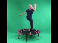 Fitness trampoline oefeningen - the Basics | Flexbounce - YouTube Trampoline Workout, Trampolines, Fitness, Youtube, Stone Pictures, Youtubers, Youtube Movies, Springboard