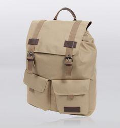 """Eastpak Cottown Klosser 17"""" Laptop Backpack - Beige"""