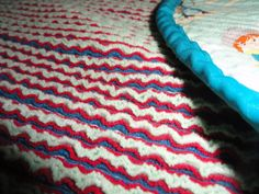 Oxford Impressions: Tutorial Faux Chenille Baby Blanket With Riley Blake's Sasparilla In Teal