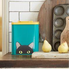 Bespoke Cat Treat Tin | hardtofind. Cat Lover Gifts, Cat Gifts, Cat Lovers, Dog Photo Frames, Best Dog Shampoo, Pet Dogs, Pets, Dog Vest, Wooden Train