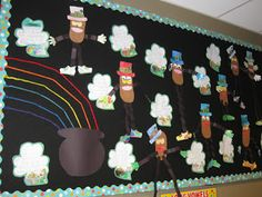 Lucky Me! St. Patrick's Day bulletin board