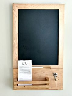 Kitchen Cabinet repurposed into a housewarming gift. Homeroad.net #kitchen #memoboard #chalkboard #repurposedcabinet