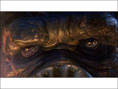 King Kong Cool Desktop Wallpapers, King Kong, Primates, Godzilla, Movie Tv, Painting, Art, Art Background, Cool Desktop Backgrounds