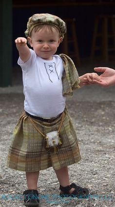 """A wee Scotsman!! To think I was once cute and innocent like this - lol. My Mum said the people in Montreal wanted her to put us on the radio (to sing our Scottish songs) as they loved our accent so much. Mum thought they were """"daft"""". lol"""